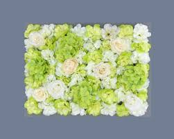 Green Flower Wall
