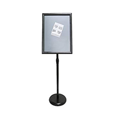 A2 Sign Display Black