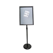 A4 Sign Display Black