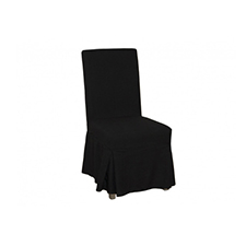 Black Chair Cover Linens