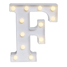 F Led Light