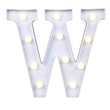 'W' Led Light