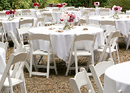Tables, Chairs & Linen