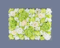 Green Flower Wall