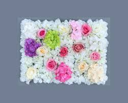 White and Pink Flower Wall