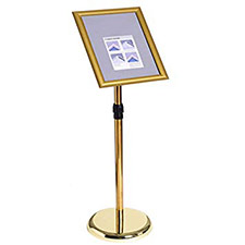 A4 Sign Display Gold