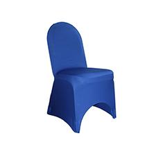 Royal Blue Chair Cover Linens