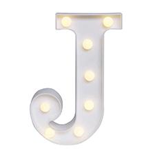'J' Led Light