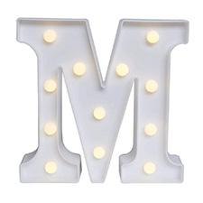 'M' Led Light