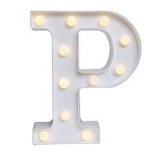 'P' Led Light