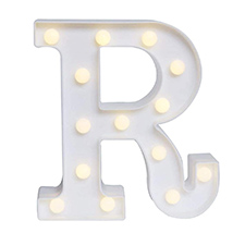 'R' Led Light